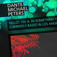 Dante Michael Peters